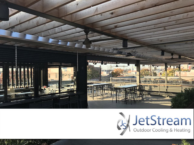 Fort Worth Commercial Outdoor Misting Fans Cooling Systems